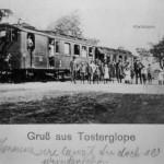Eisenbahn in Tosterglope um 1910