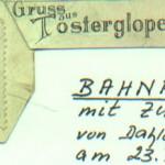 Bahnpostmarke