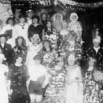 Fasching 1931 im Gasthaus Wenk