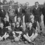 Fussballmannschaft um 1955