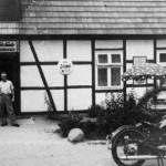 Hagels Waldschänke in der Siedlung Tosterglope - Sommer 1955