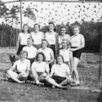 Handballmannschaft um 1955