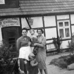 Waldklause (Genickschussbar) in der Siedlung Tosterglope - ca. 1960