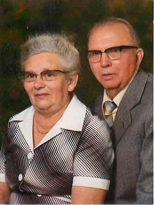 Richard Crull und Frau